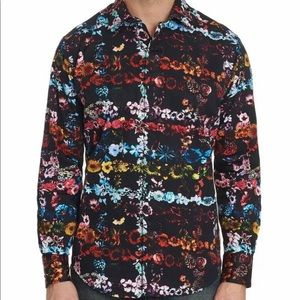 Robert Graham Technicolor Long Sleeve Shirt
